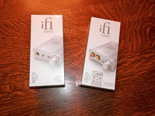 First Look: iFi iDSD nano DAC/headphone amp & iCAN nano headphone amp