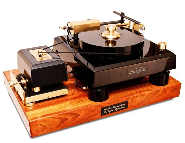 Walker Audio Introduces The New Proscenium Black Diamond V Turntable