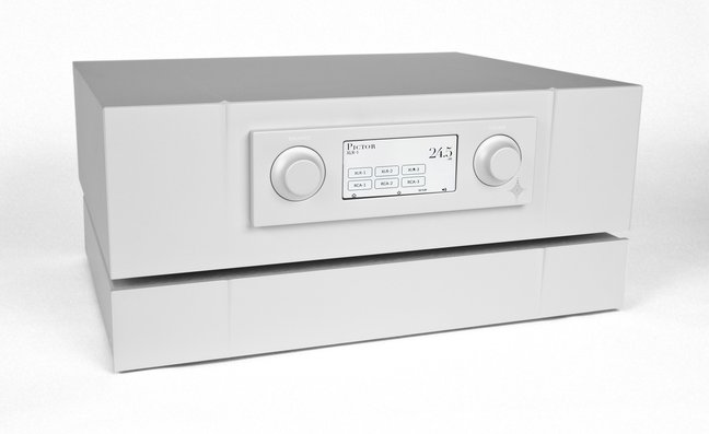 Constellation Audio Pictor preamp and Taurus Stereo power amplifier