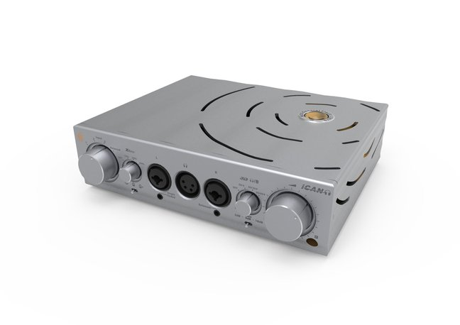 iFi Audio Pro iCAN balanced, hybrid valve/solid state headphone amp/preamp