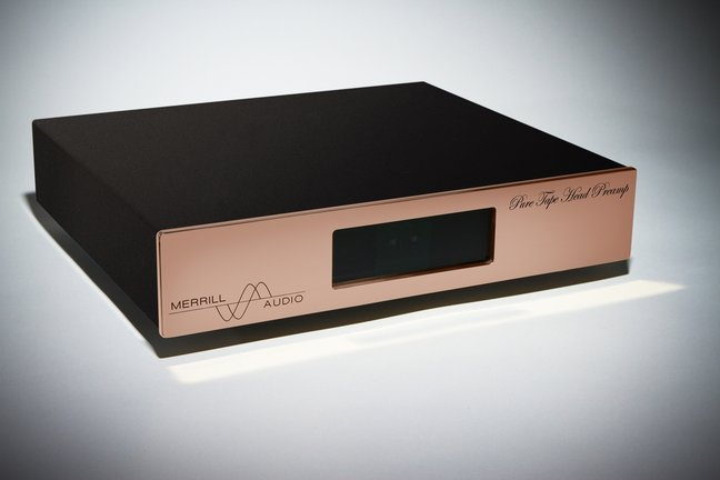 PURE Tape Head Preamplifier for Reel to Reel Tape Decks from Merrill Audio.