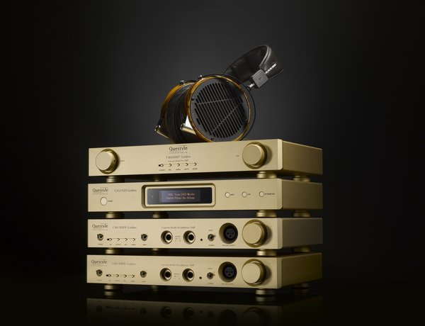 Questyle Golden Reference DAC/preamp/headphone amp system