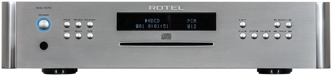 New CD Player from Rotel Electronics
