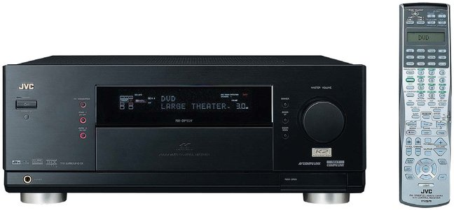JVC RX-DP15B 7.1-channel A/V Receiver