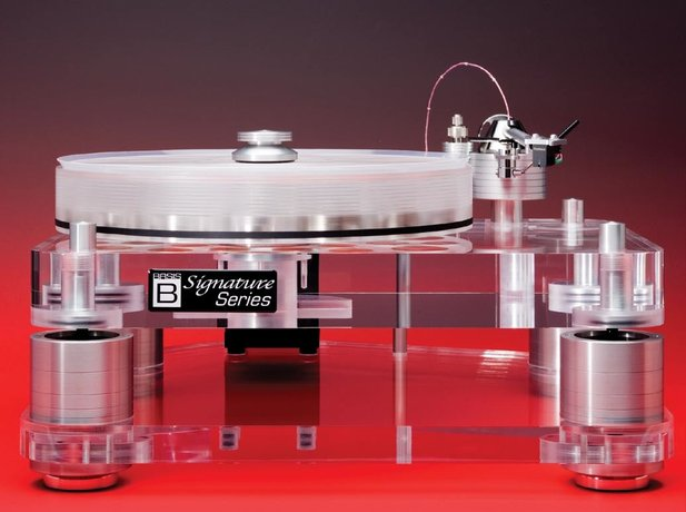 Basis Audio 2800 Signature Turntable and Basis Vector Tonearm