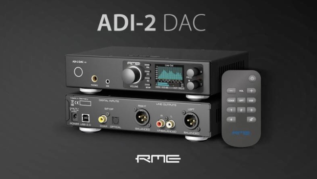 RME launches the new RME ADI-2 DAC with remote control