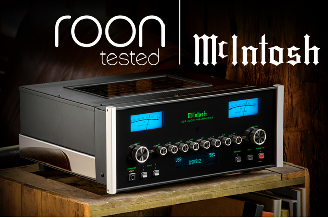 McIntosh expands its Roon Tested offerings