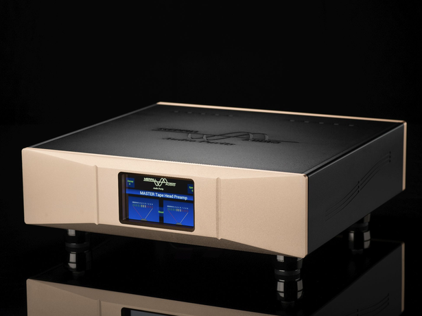 Product Announcement: MASTER Tape Head Preamplifier for Reel to Reel Tape Decks from Merrill Audio.