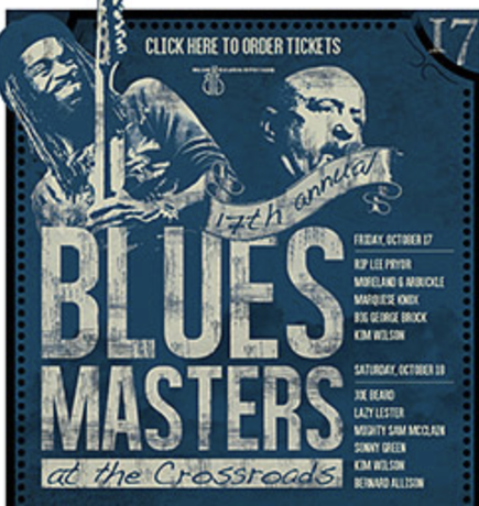 Enjoy the Music.com To Rebroadcast Our Live Stream Of Blues Masters At The Crossroads 2014