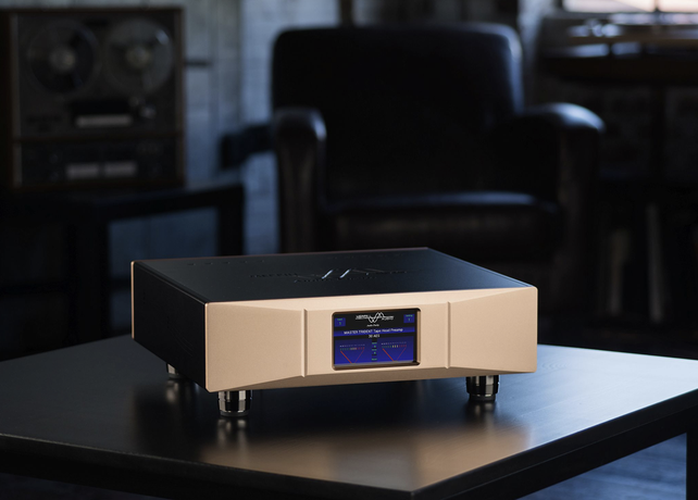 Product Announcement: 3 INPUT MASTER TRIDENT Tape Head Preamplifier for professional users of Reel to Reel Tape Decks from Merrill Audio.