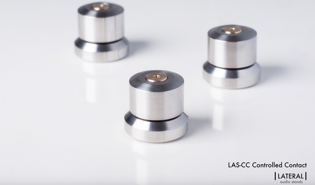 Lateral Audio Stands launch further high performance products LAS-CC and DCP.