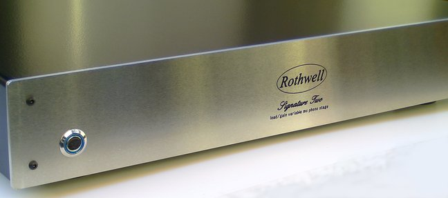 Rothwell announce release of advanced discrete transistor moving coil phonostage.