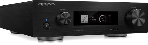 OPPO Announces Sonica DAC Audiophile DAC and Network Streamer