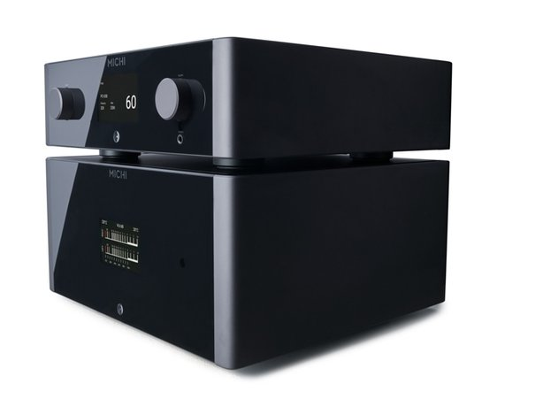Michi P5 preamplifier and S5 power amplifier