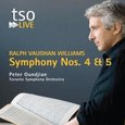 Vaughan Williams: Symphonies 4 & 5
