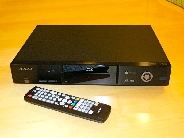 "First Listen: Oppo BDP-83SE ""Special Edition"" Universal Blu-ray Player"