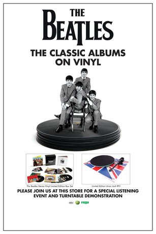 The Beatles In-Store Listening Events