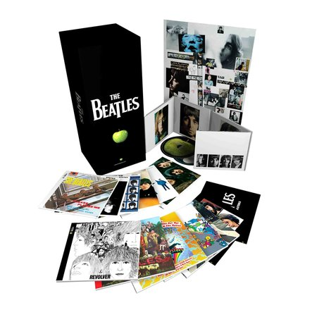 The Beatles Remasters- The Stereo Albums and The Beatles In Mono.