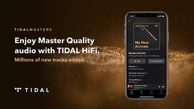TIDAL Adds Millions of Master Quality Tracks Offering Extensive Catalog of Highest Quality Streaming Audio
