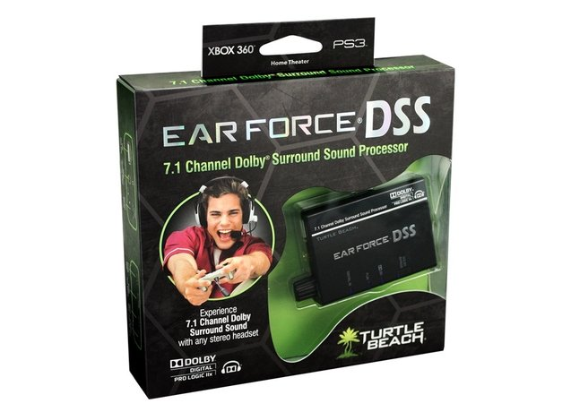 Turtle Beach Ear Force DSS Enables 7.1-Channel Sound from Headphones