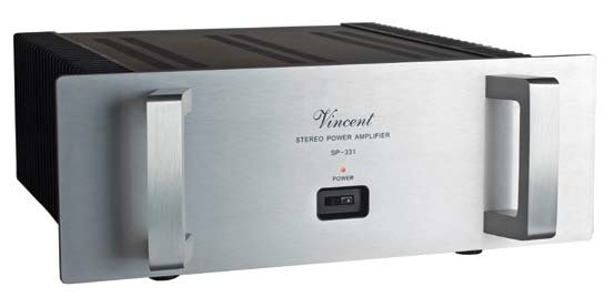 Vincent Audio SA-31 Preamplifier and SP-331 Power Amplifier