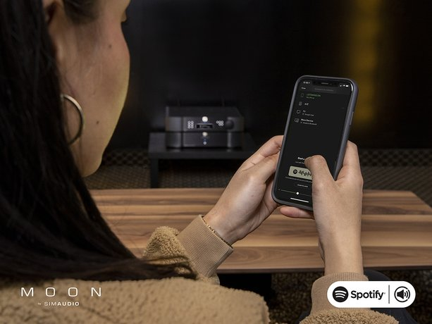 MOON PRODUCTS NOW FEATURE SPOTIFY CONNECT