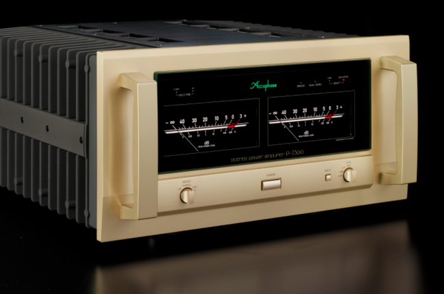 Accuphase C-3850 Preamplifier and P-7300 Power Amplifier