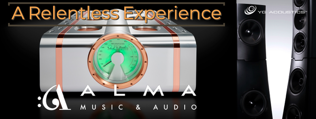 D'Agostino and YG Acoustics at Alma Music and Audio