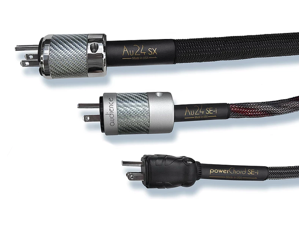 Audience Next-Generation powerChord Models: The New Au24 SX, Au24 SE-i and SE-i AC Power Cords