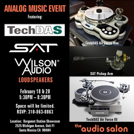 Audio Salon to Host Analog Listening Events