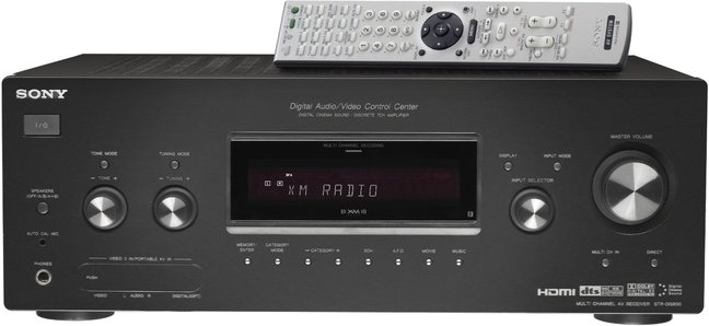 Sony STR-DG800 7.1-Channel A/V Receiver