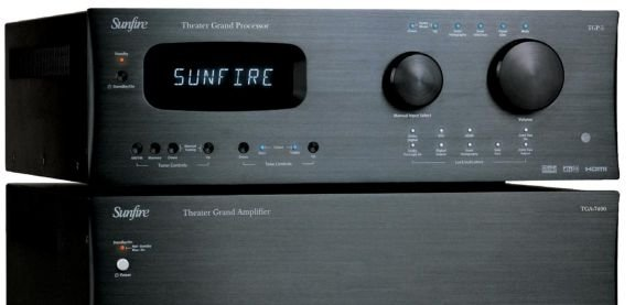 Sunfire TGP-5 Multichannel Controller & TGA-7400 Multichannel Amp