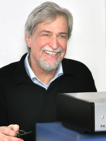 Siegfried Amft, Founder and President, T+A Electroakustic