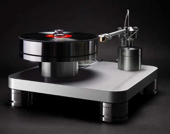 Basis Audio A.J. Conti Transcendence Turntable and SuperArm 12.5 Tonearm