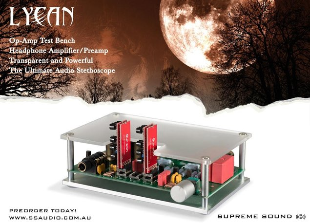 Burson Audio Launches Supreme Sound Audio Website for DIY and OEM Products And Introducing the SS Lycan (Headphone amp, Preamp and Op-Amp Test Bench, 3 in 1)