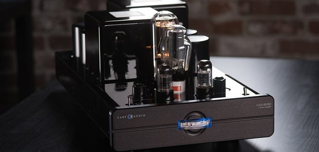 Cary Audio Introduces the CAD-805 Reference Series Vacuum Tube Monoblock Power Amplifier