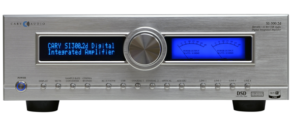 Cary Audio Introduces SI-300.2d Digital Integrated Amplifier