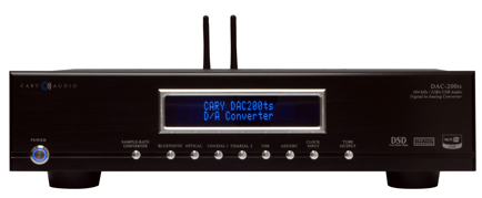 Cary Audio Introduces DAC-200ts
