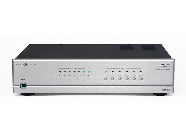 Cary DAC-100 and DAC-100t Digital-to-Analog Converters