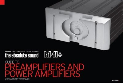 The Absolute Sound/HiFi+ Guide to Preamplifiers and Power Amplifiers