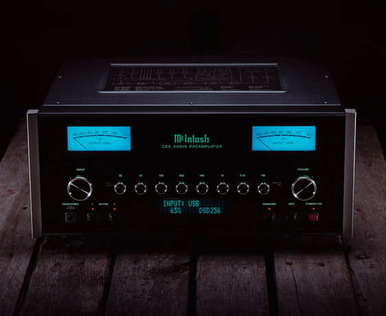 McIntosh C52 Solid-State Preamplifier