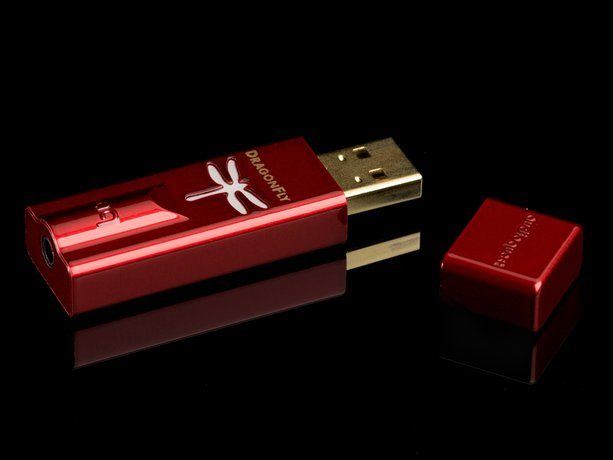 AudioQuest DragonFly Red and DragonFly Black DACs