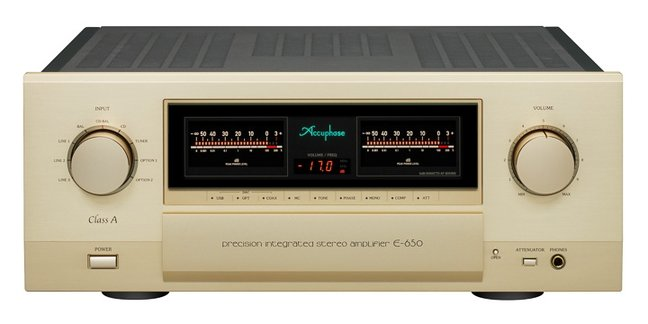 Accuphase E-650 integrated amplifier