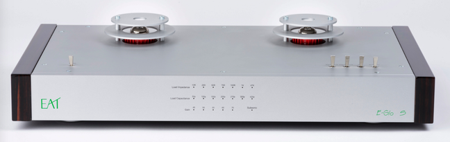 E.A.T. E-Glo S Phono Preamplifier and LPS Linear Power Supply