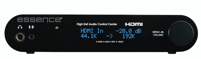 Essence High Definition Audio Control Center