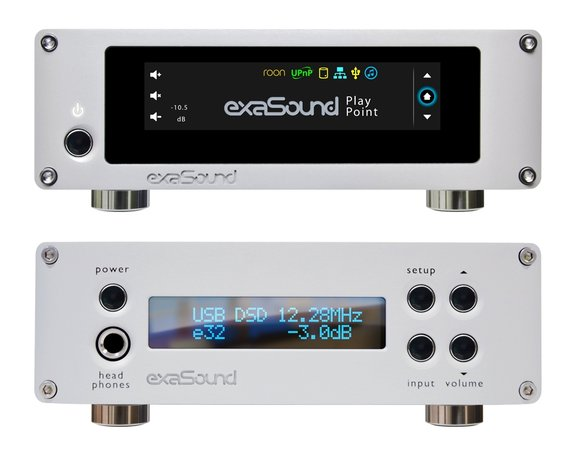 exaSound Audio Design PlayPoint Network Audio Player and e32 DAC