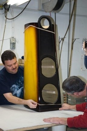 NEWS: Gibson & Thiel Create Sunburst-Finished CS3.7 Loudspeakers