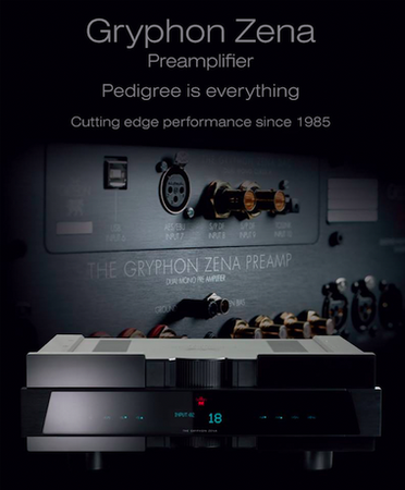 Gryphon Audio Designs to Demonstrate Zena Preamplifier in Chicago