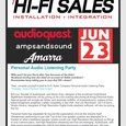Personal Audio Listening Event at Hi-Fi Sales New Jersey