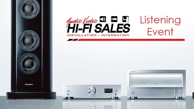 Hi-Fi Sales Company Hosts Technics Listening Event